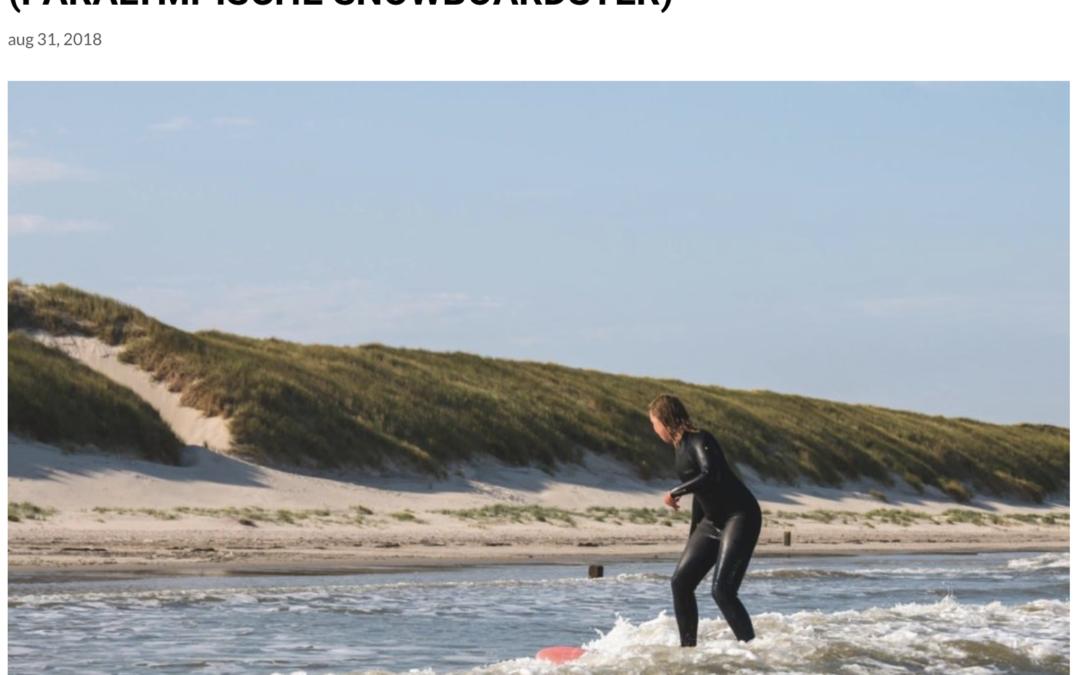 Surfen met een verlamming – Renske van Beek