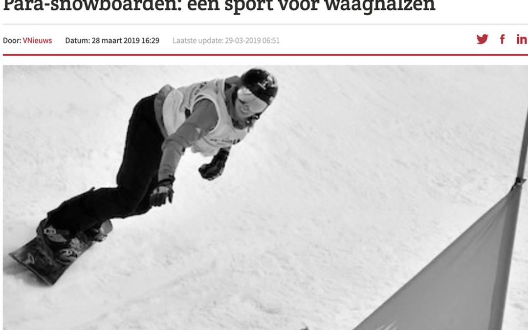 Para-snowboarden: een sport voor waaghalzen